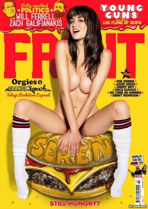 Seren Gibson - Fr0nt Issue 173 2012 UK