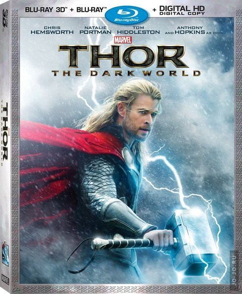 Тор 2: Царство тьмы / Thor: The Dark World (2013) HDRip
