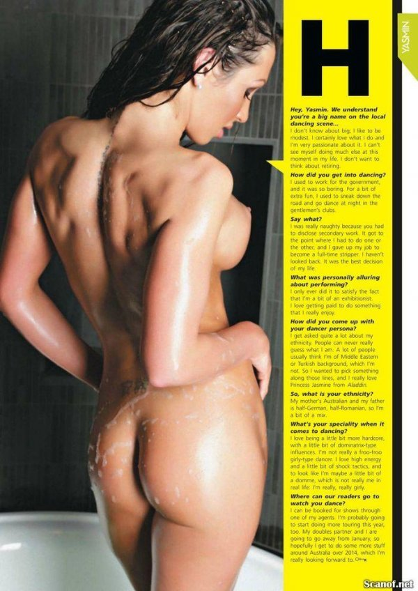 Yasmin - Penthouse January 2014 Australia