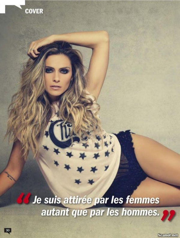 Clara Morgane - Entrevue Issue 258 January 2014 France