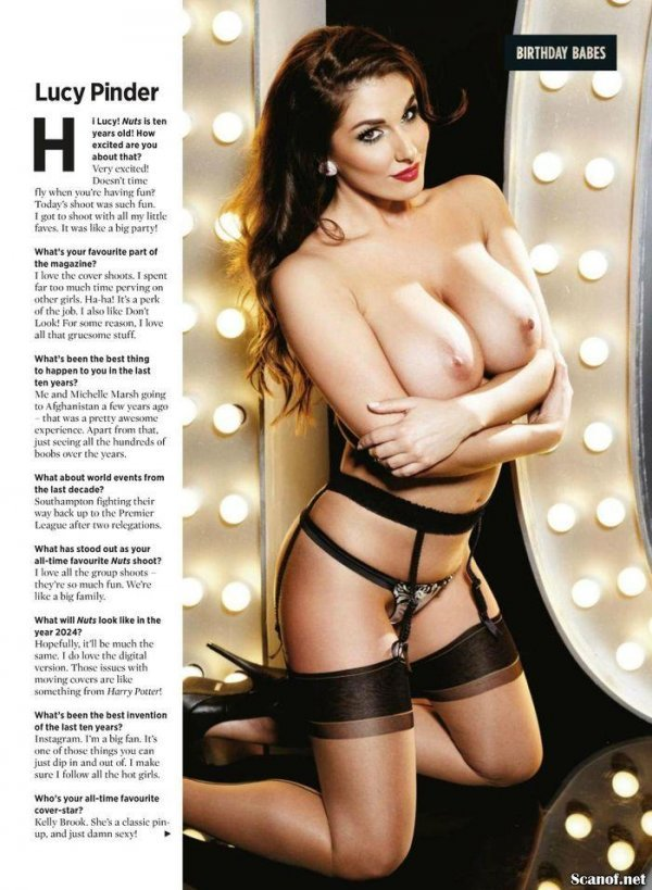 Birthday Babes - Nuts 24 January 2014 UK