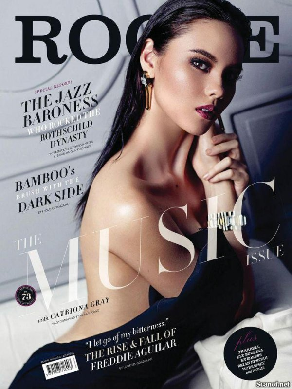 Catriona Gray - Rogue January-February 2014 Philippines