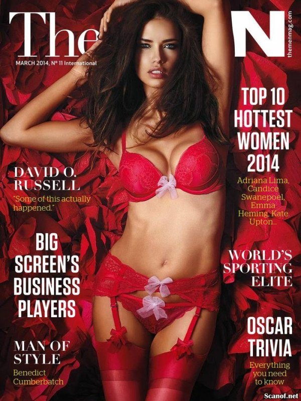 Hottest Girls 2014 - The Man Issue 11 March 2014 USA