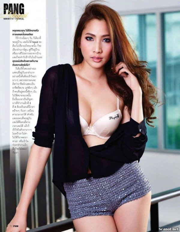 Pang Pichapat - FHM February 2014 Thailand