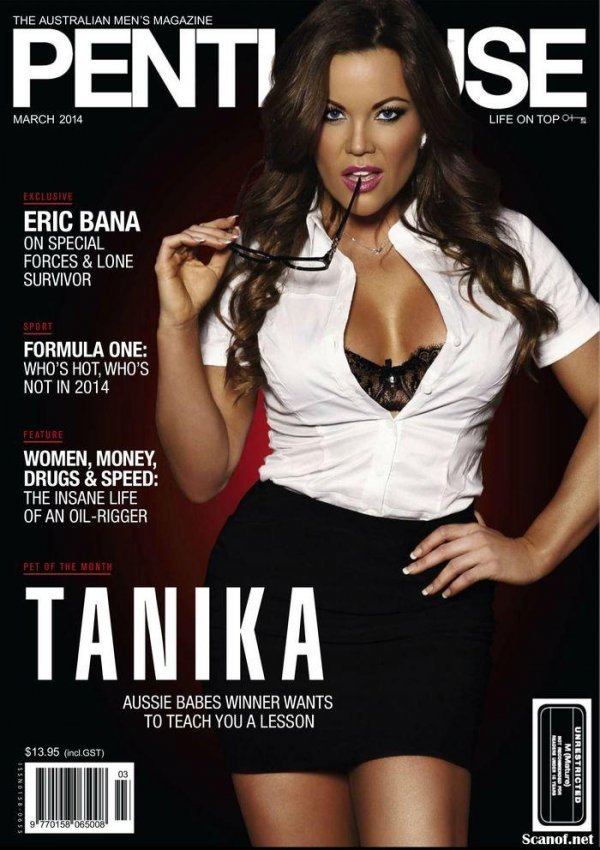 Tanika West - Penthouse March 2014 Australia