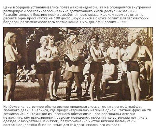 проститутки в концлагерях рейха