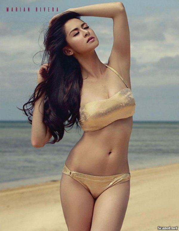 Marian Revera - FHM March 2014 (3-2014) Philippines