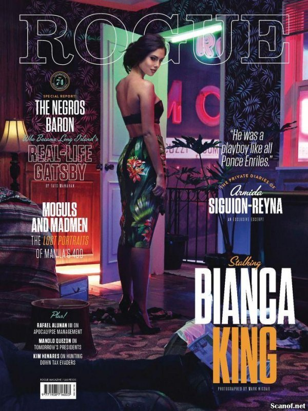 Bianca King - Rogue March 2014 Philippines