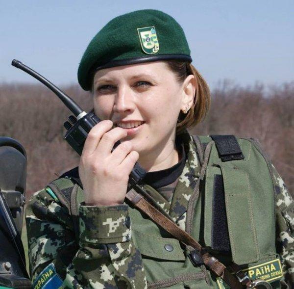 Украинские пограничницы