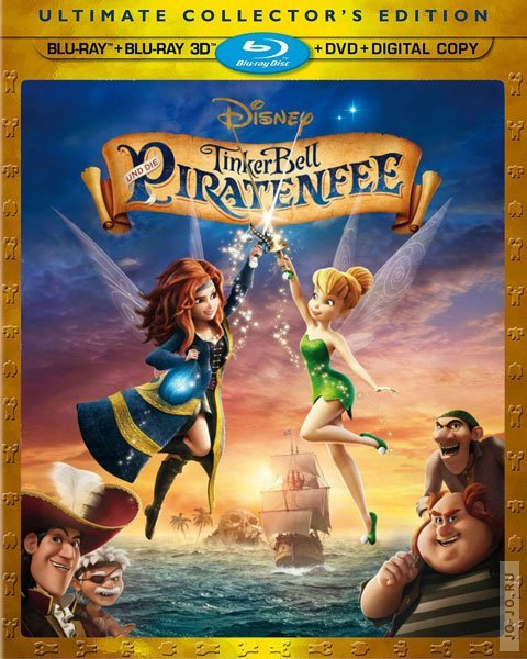 ���: ������� ���������� ������� / The Pirate Fairy (2014) HDRip