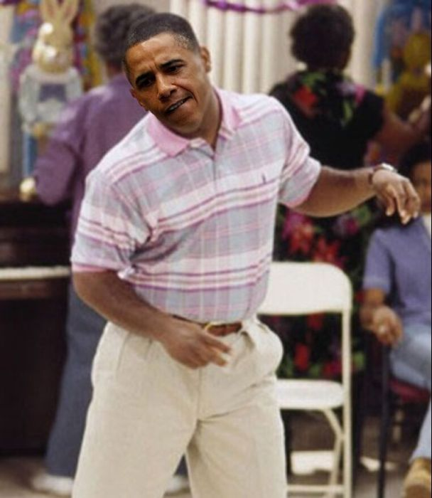 Obama Playing Xbox