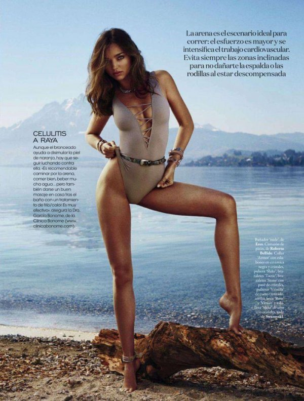Miranda Kerr - Elle May 2014 Spain