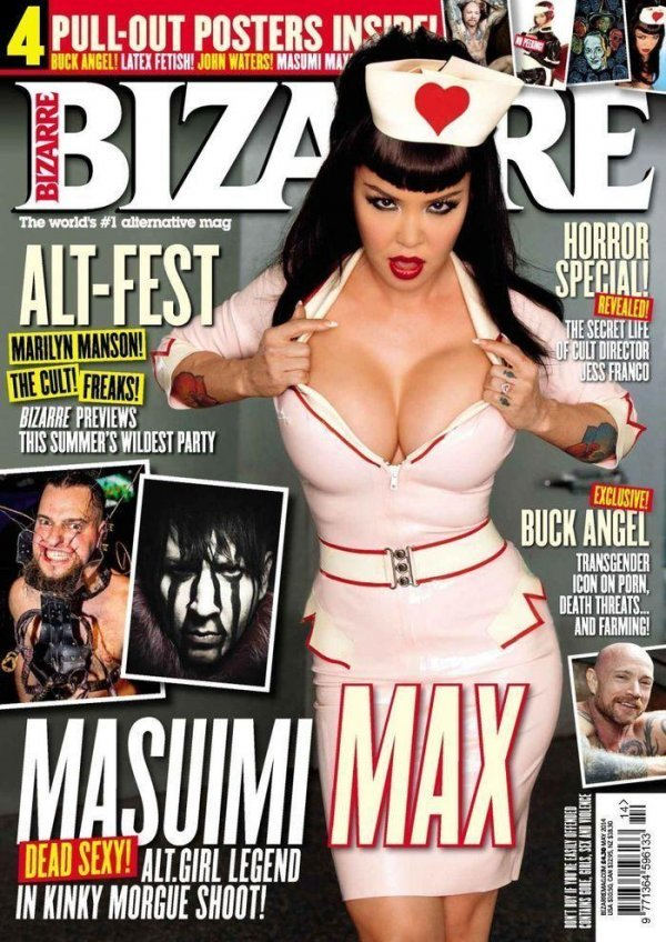 Masuimi Max - Bizarre May 2014 (5-2014) UK