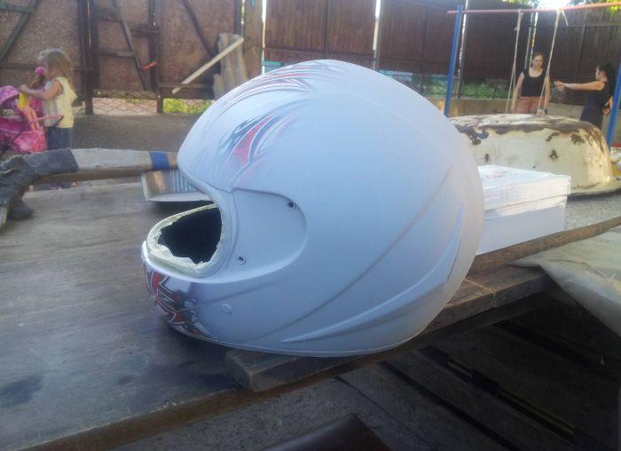 Изготовление шлема своими руками