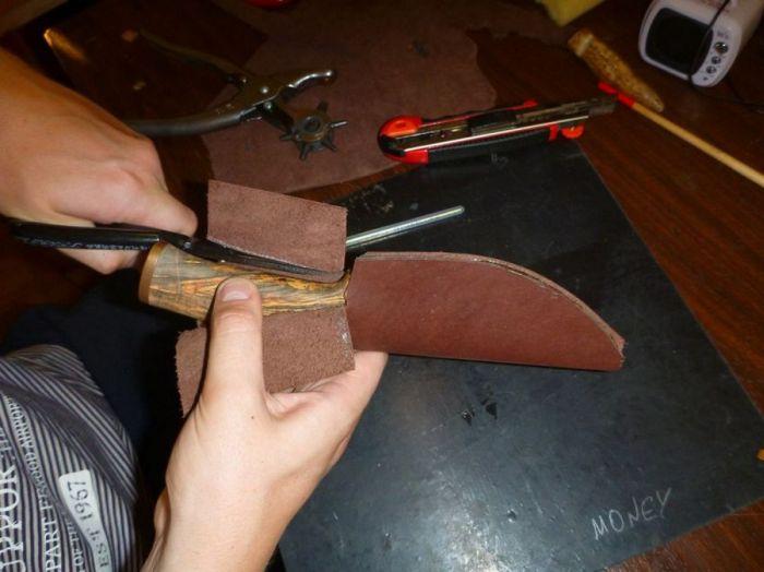Сделать нож и ножны своими руками