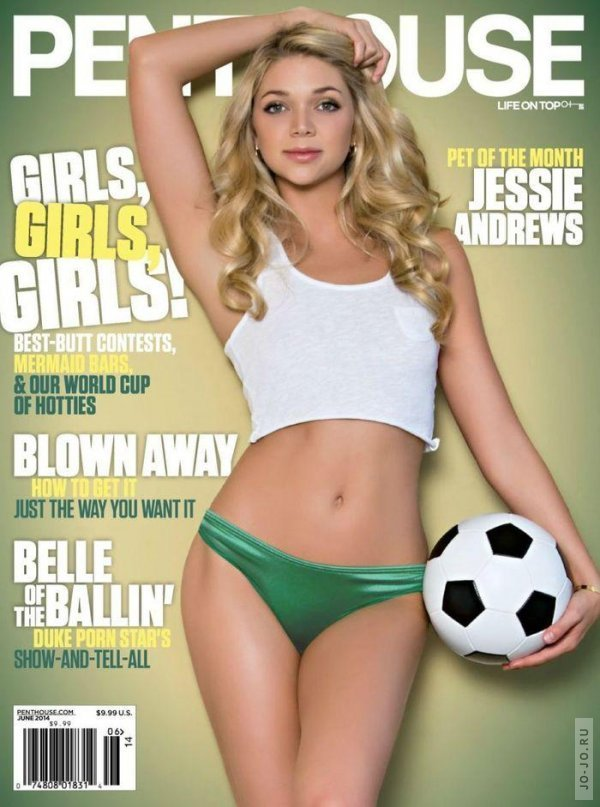 Jessie Andrews - Penthouse June 2014 USA