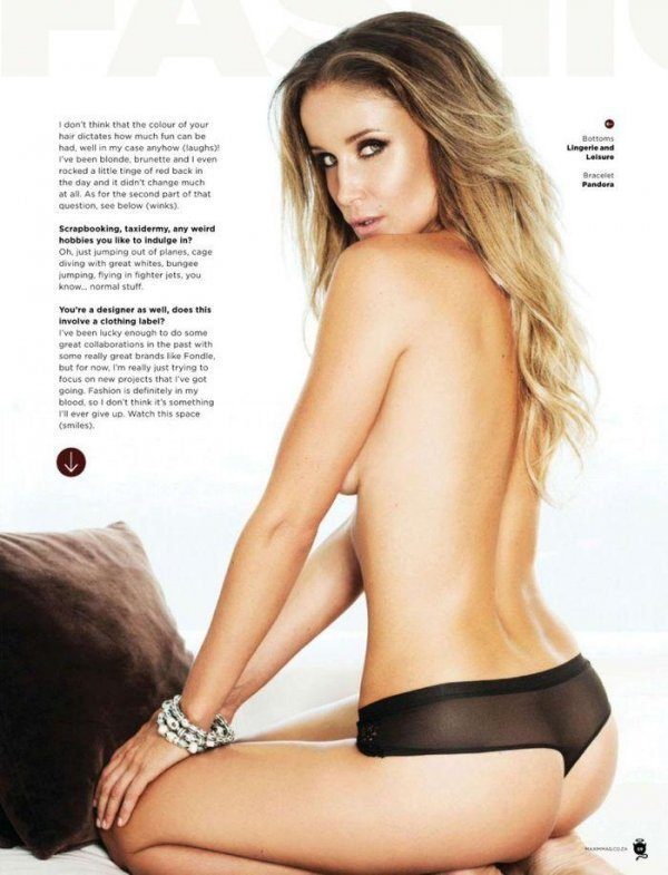 Tracy McGregor - Maxim June 2014 South Africa