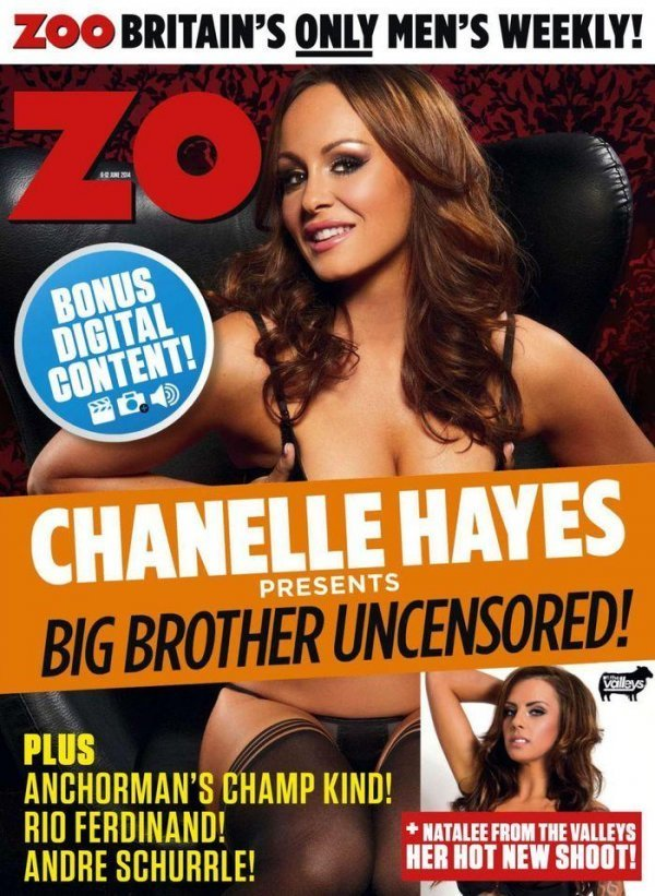 Chanelle Hayes - ZOO 06 June 2014 UK