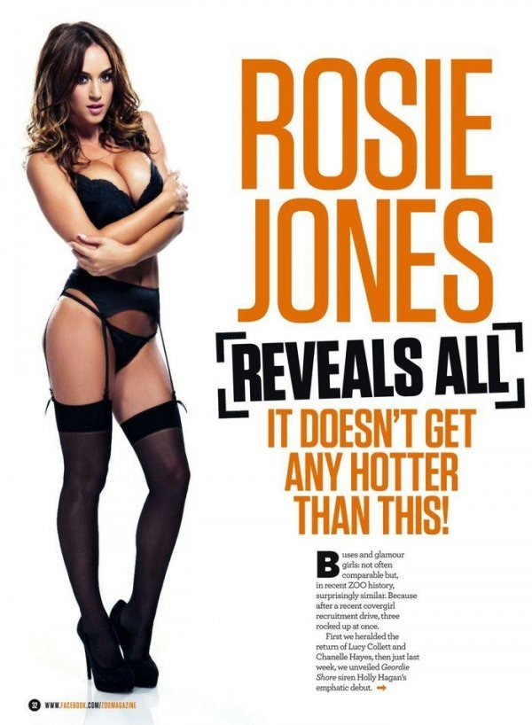 Rosie Jones - ZOO 20 June 2014 UK