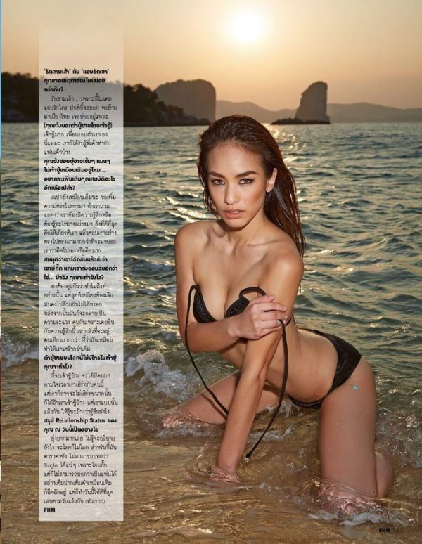 Kie Rakkmon - FHM May 2014 Thailand