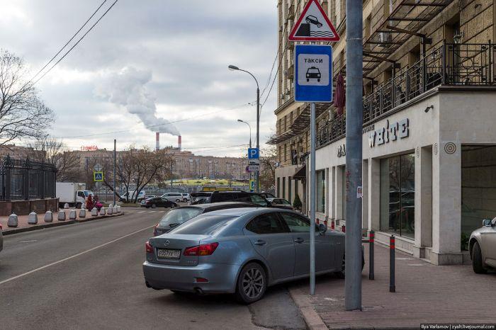 можно ли ставить машину перед знаком стоянка запрещена