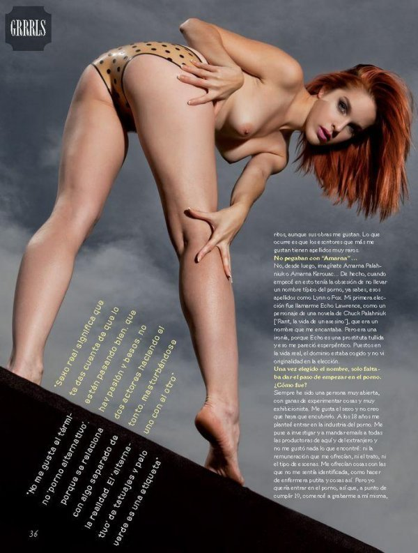 Amanda Miler - Primera Linea Issue 349 May 2014 Spain