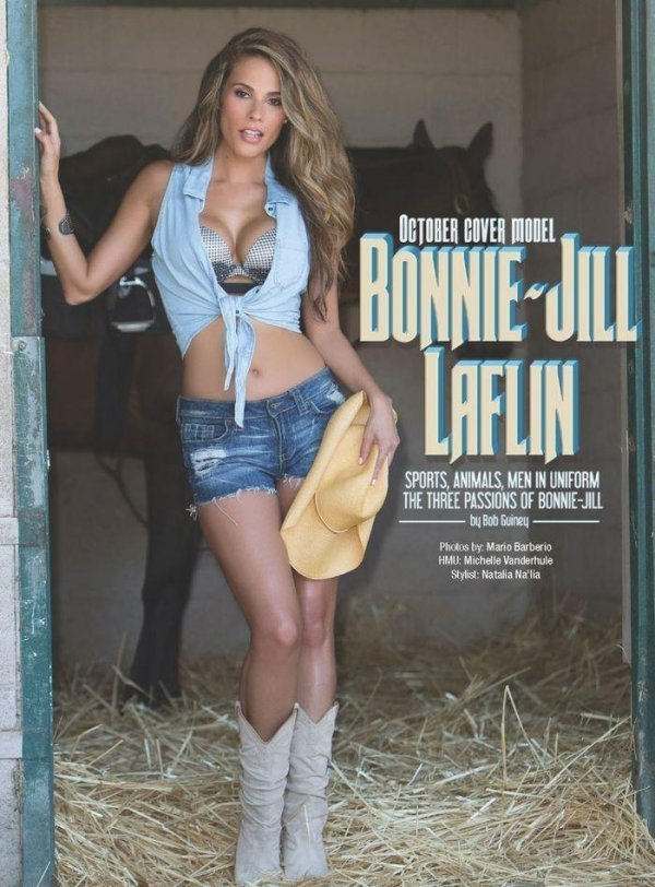 Bonnie-Jill Laflin - Kandy Magazine October 2014 USA