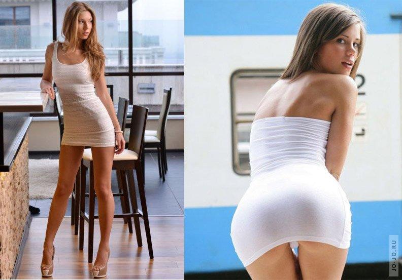 Обои с красивыми девочками в коротких юбках и платьях фото 340-301