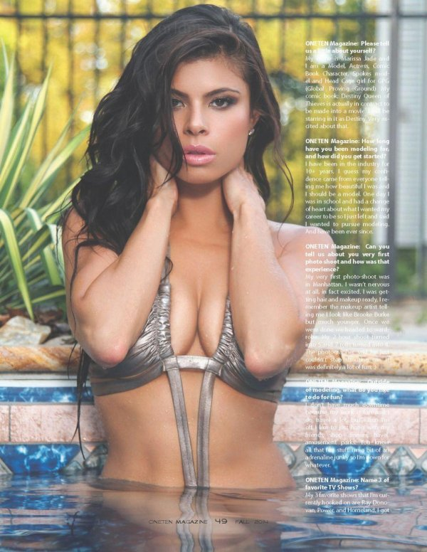Marissa Jade - ONETEN Magazine Issue USA