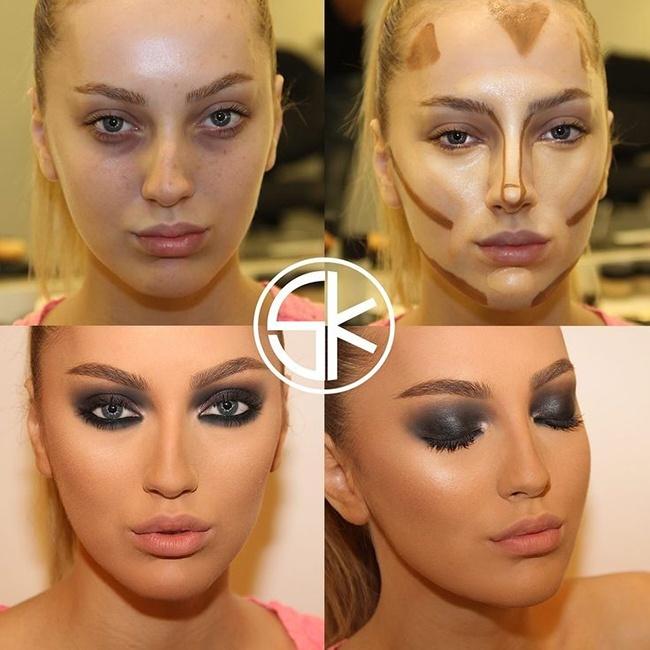 Makeover makeup