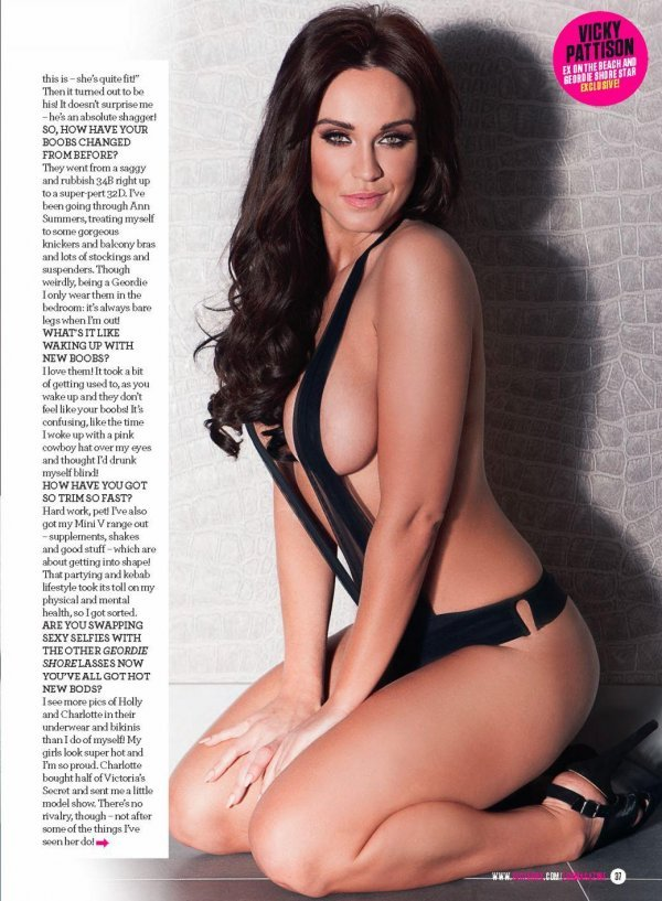 Vicky Pattison - ZOO 27 February 2015 UK
