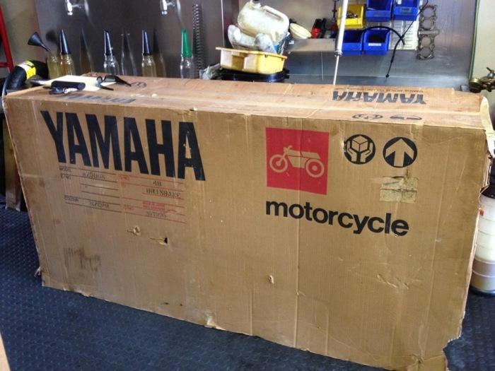 В Австралии нашли «законсервированный» спортбайк Yamaha RZ500N 1985 года с нулевым пробегом