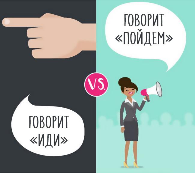 Различия между лидером и менеджером