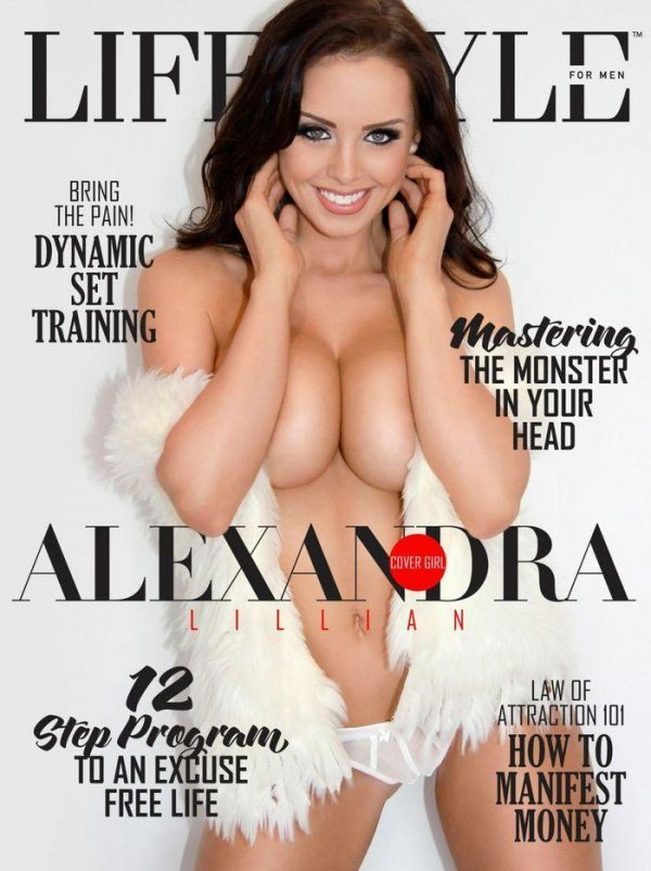Alexandra Lillian - Lifestyle for Men Issue USA