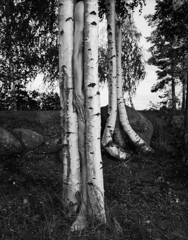Сюрреалистические фотографии Арно Минккинена, демонстрирующие близость человека и природы