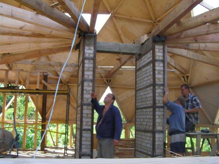 Строительство купольного дома своими руками 42