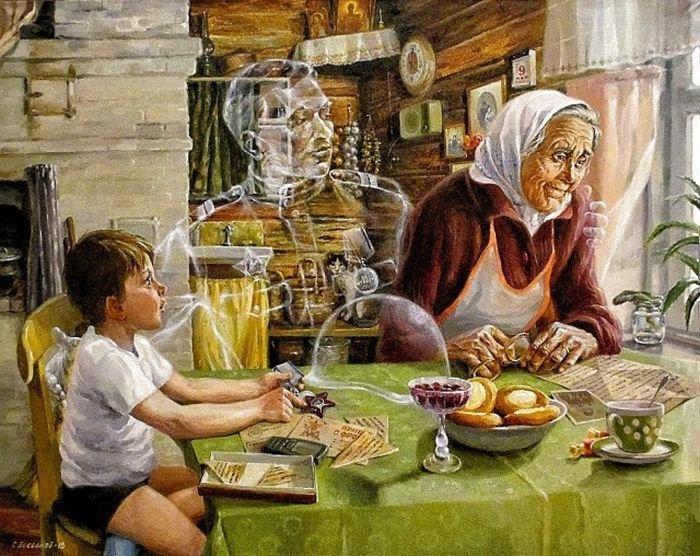 Картины на тему Великой Отечественной войны от Сергея Бессонова