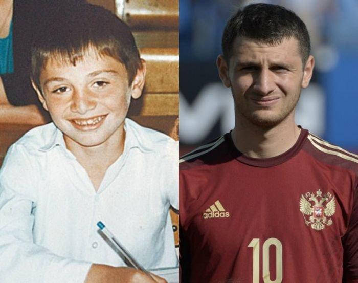 Игра кокой футболист в детстве