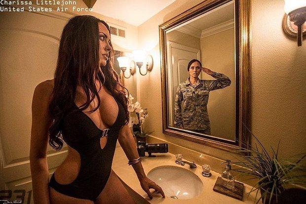 Фото американских военных голых