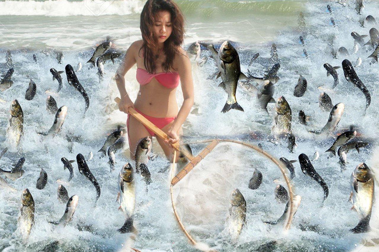 сонник ловить рыбу руками женщине