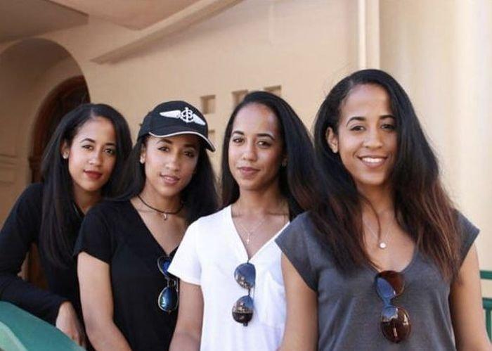 Очаровательные близняшки, тройняшки и четверняшки из разных стран мира (13 фото)
