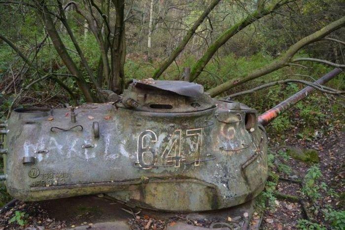 Брошенные танки в Германии (9 фото)