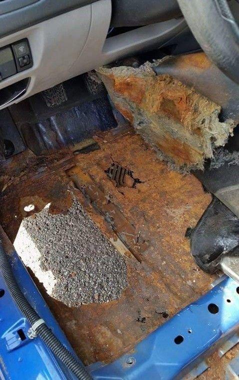 Последствия самостоятельного ремонта авто (20 фото)
