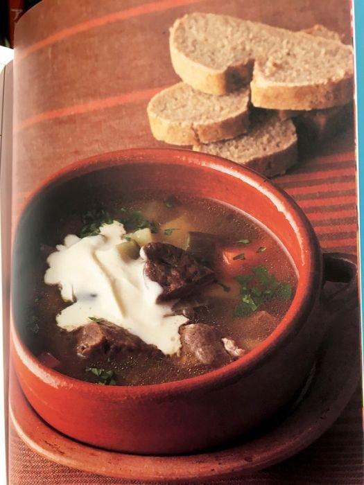 Русская кухня в японской кулинарной книге (34 фото)