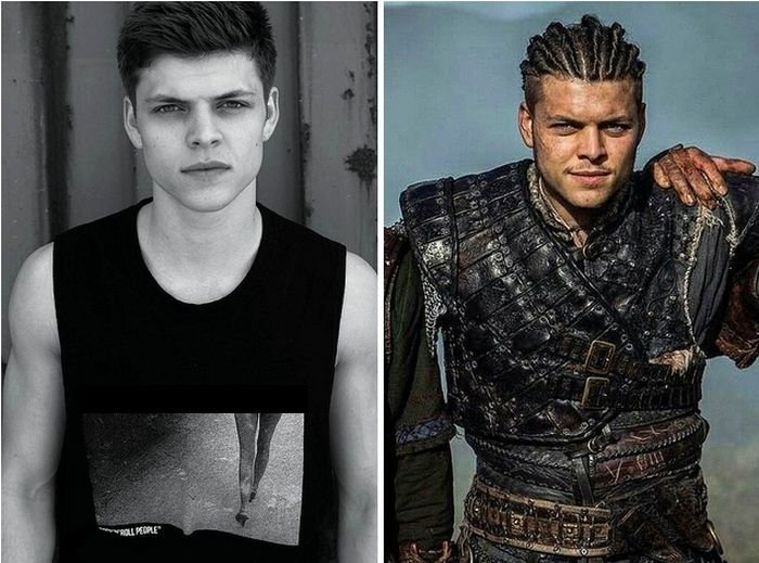 Актеры сериала «Викинги» в реальной жизни (18 фото)