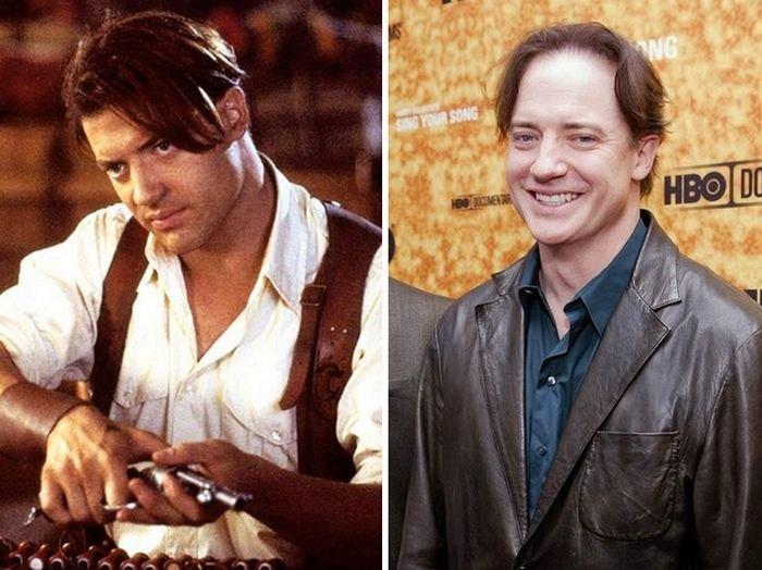 Актеры фильмы «Мумия» 18 лет спустя (10 фото)