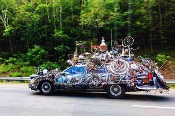Странные автомобили на дорогах общего пользования (32 фото)