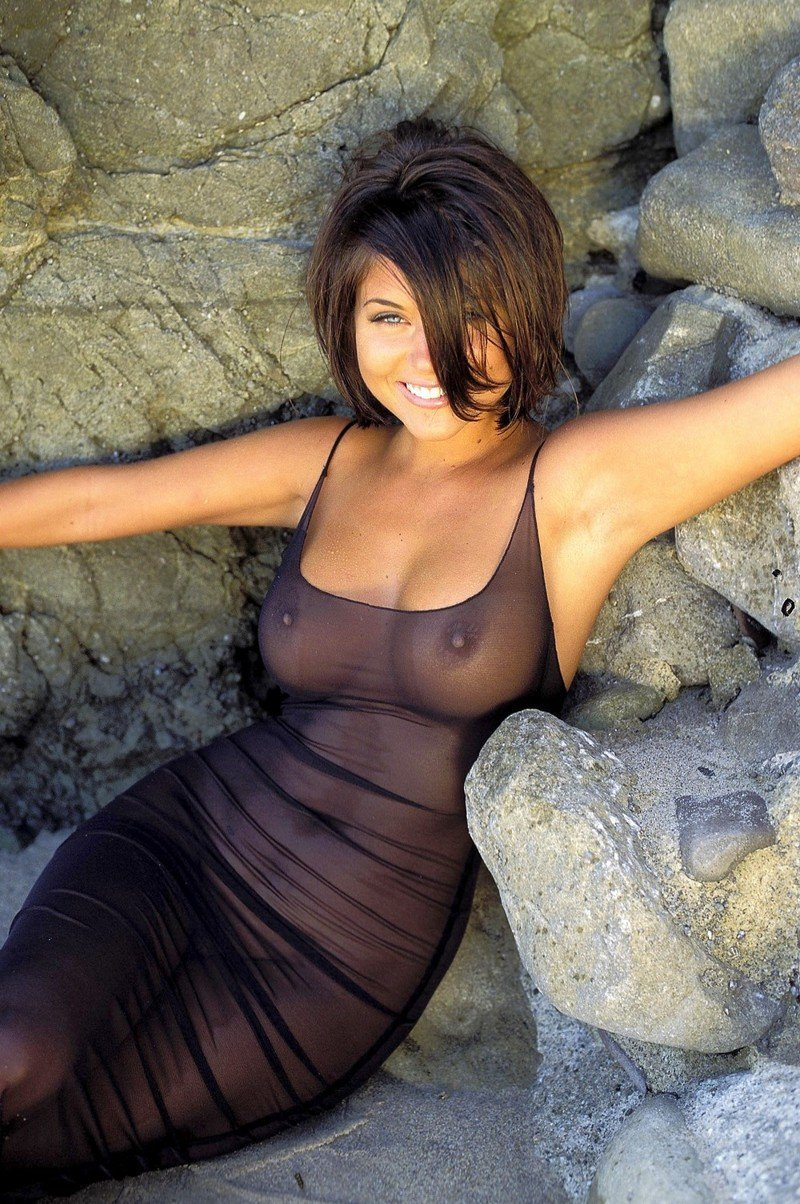 порно фото девушка в прозрачном платье