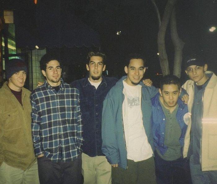 Опубликовано первое фото группы Linkin Park с Честером Беннингтоном (2 фото)