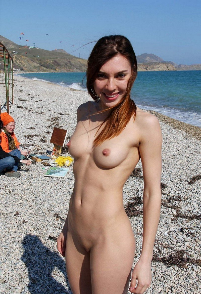 selfie-nude-beach-satin-cummy-pantyhose-sinfull-stockings